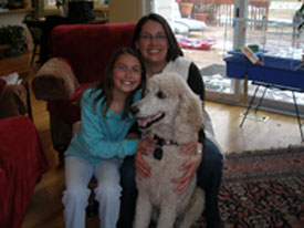 Dianna was able to help us train our dog to be a wonderful, obedient member of the family.